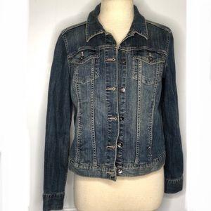 Long sleeve jean jacket